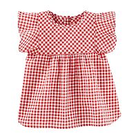 Toddler Girl OshKosh B'gosh® Ruffle Sleeve Top
