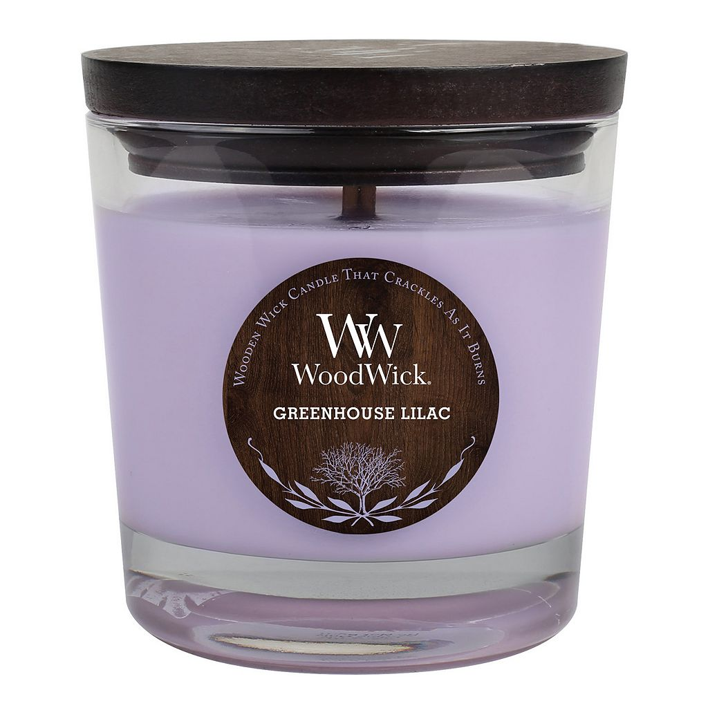 WoodWick Greenhouse Lilac 10.5-oz. Candle Jar