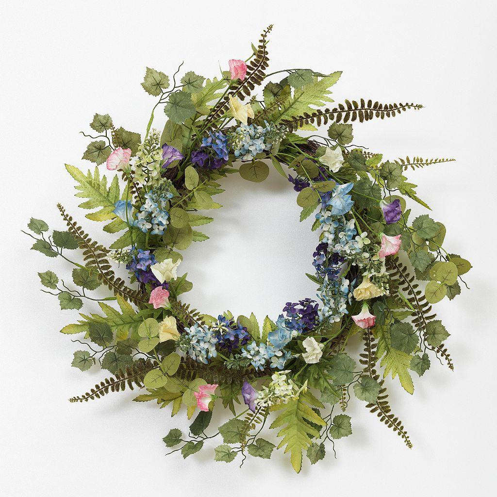 Flower Buds Natural Twig Wreath