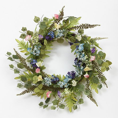 Flower Buds Natural Twig Wreath