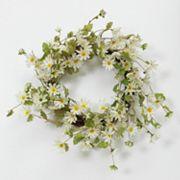 Summer Daisy Natural Twig Wreath