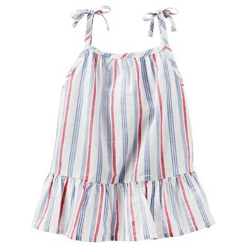 Toddler Girl OshKosh B'gosh® Striped Tie Strap Tank Top