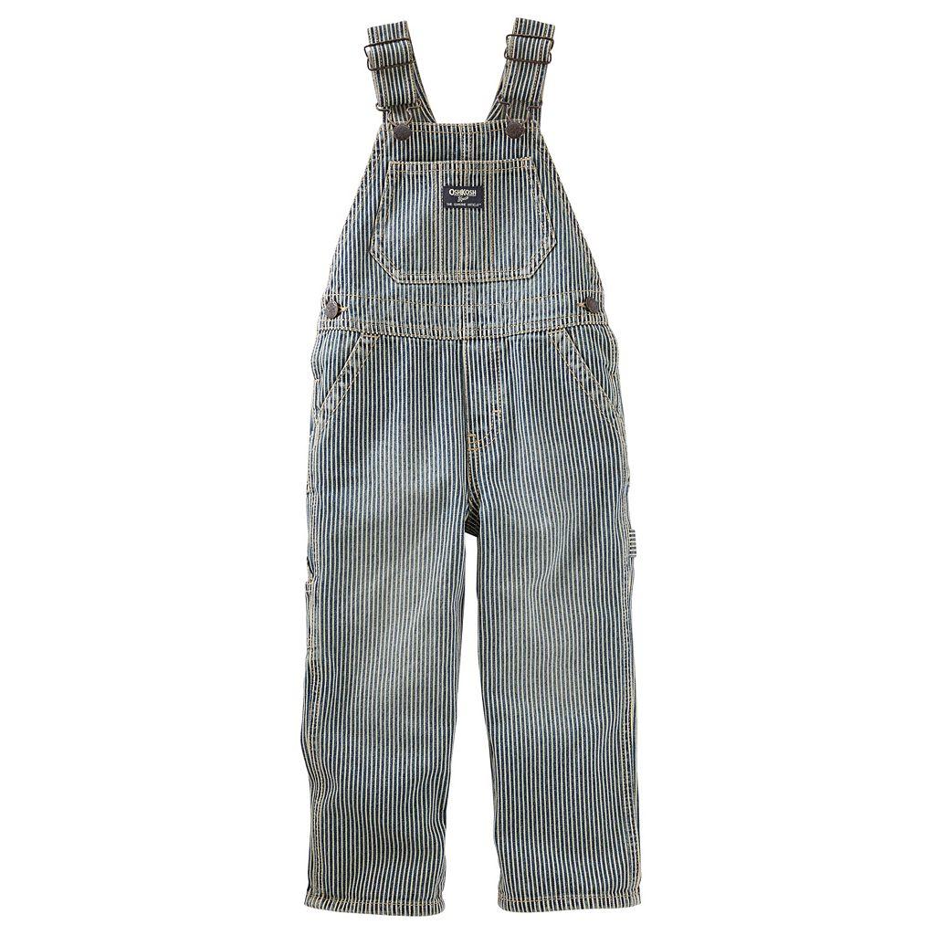 Toddler Boy OshKosh B'gosh® Pinstripe Denim Overalls