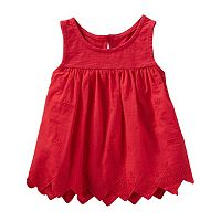 Toddler Girl OshKosh B'gosh® Embroidered Swing Tank Top
