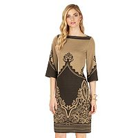 Women's Indication by ECI Print Midi Dress
