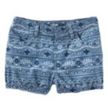 Toddler Girl OshKosh B'gosh® Print Denim Bubble Shorts