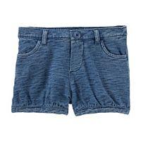Toddler Girl OshKosh B'gosh® Slubbed Bubble Shorts