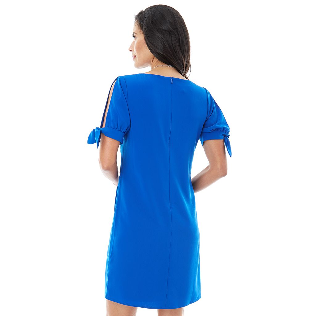 Women's AB Studio Cold-Shoulder Shift Dress