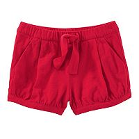 Toddler Girl OshKosh B'gosh® Solid Pleated Bubble Shorts
