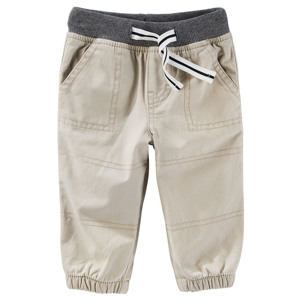 Baby Boy OshKosh B'gosh® Solid Jogger Pants