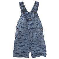 Baby Boy OshKosh B'gosh® Sharks Chambray Shortalls