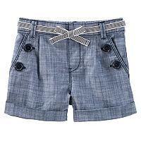 Toddler Girl OshKosh B'gosh® Chambray Sailor Shorts