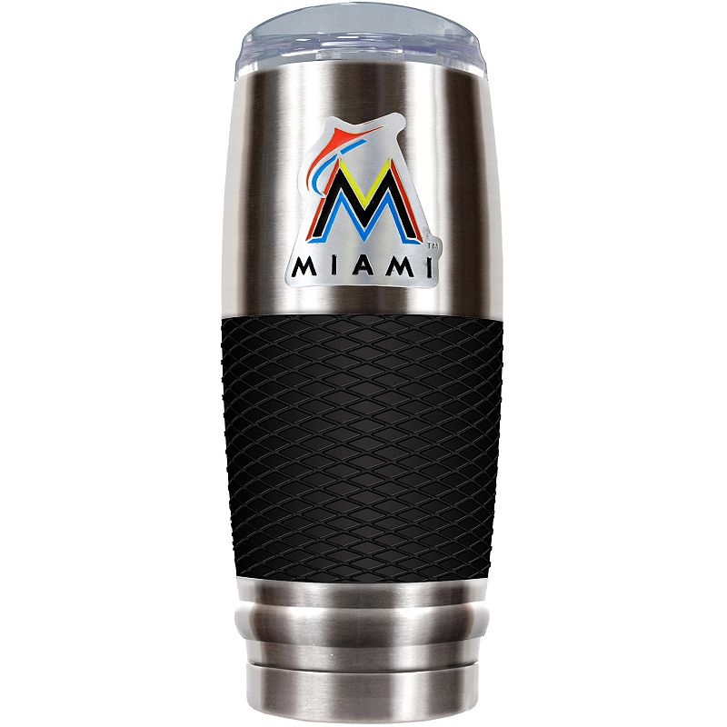 Miami Marlins 30-Ounce Reserve Stainless Steel Tumbler
