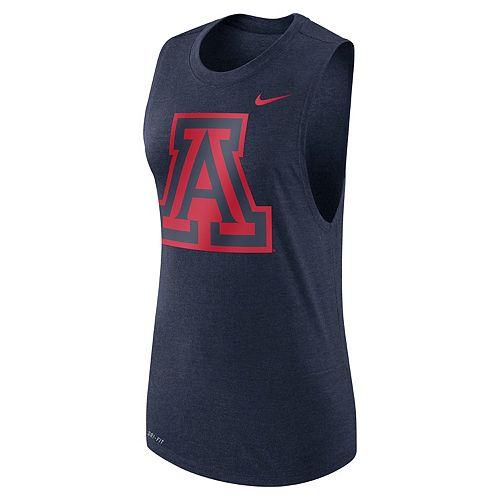 Women's Nike Arizona Wildcats Dri-FIT Muscle Tee