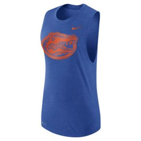 Women's Nike Florida Gators Dri-FIT Muscle Tee