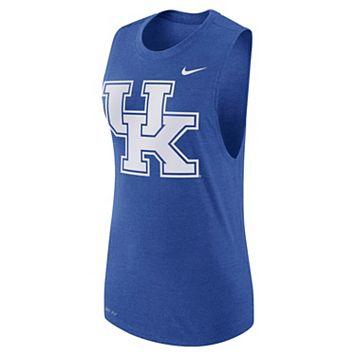 Women's Nike Kentucky Wildcats Dri-FIT Muscle Tee
