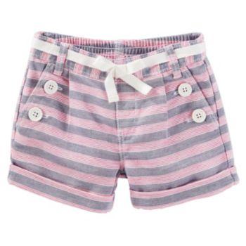 Toddler Girl OshKosh B'gosh® Striped Sailor Shorts
