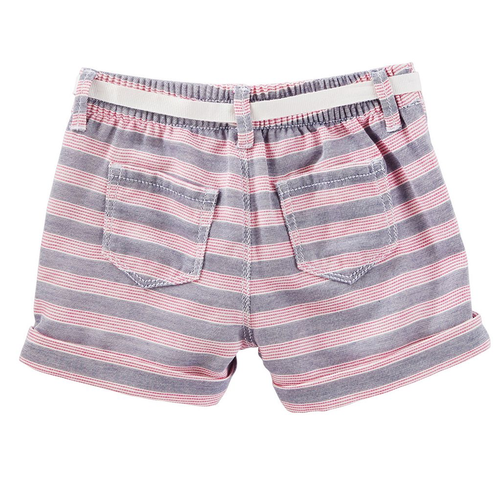 Toddler Girl OshKosh B'gosh® Striped Sailor Shorts