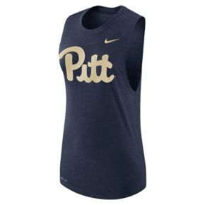 Women's Nike Pitt Panthers Dri-FIT Muscle Tee