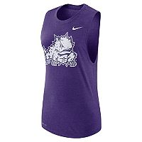 Women's Nike TCU Horned Frogs Dri-FIT Muscle Tee