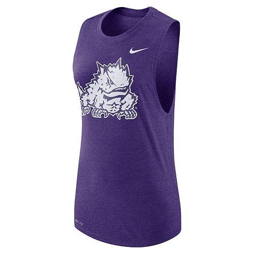 Women's Nike TCU Horned Frogs Dri-FIT Muscle Tee