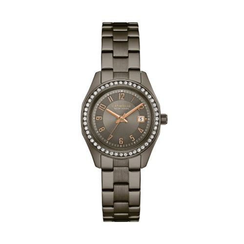 Caravelle New York by Bulova Women's Crystal Stainless Steel Watch – 45M110