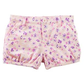 Toddler Girl OshKosh B'gosh® Floral Pattern Bubble Shorts