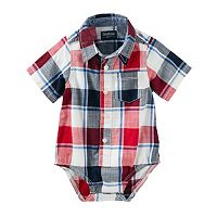 Baby Boy OshKosh B'gosh® Plaid Bodysuit