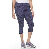 Plus Size Tek Gear® Space-Dyed Capris