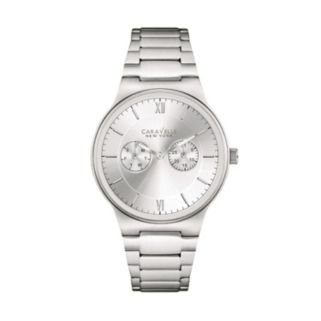 Caravelle New York by Bulova Men's Stainless Steel Watch - 43A134