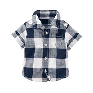 Baby Boy OshKosh B'gosh® Plaid Shirt