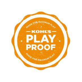 Toddler Boy OshKosh B'gosh® Long Sleeve Orange Plaid Poplin Button-Down Shirt