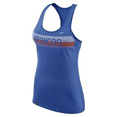 Women's Nike Boise State Broncos Dri-FIT Touch Tank Top
