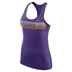 Women's Nike LSU Tigers Dri-FIT Touch Tank Top