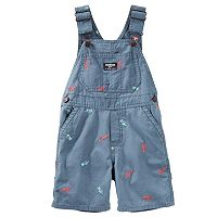 Toddler Boy OshKosh B'gosh® Embroidered Dinosaur Overalls