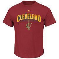 Men's Majestic Cleveland Cavaliers Reflective Skyline Tee