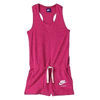Girls 7-16 Nike Vintage Nep Racerback Romper