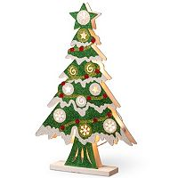 National Tree Company Pre-Lit Glitter Christmas Tree Table Decor