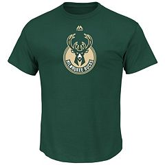 Men's Majestic Milwaukee Bucks Logo II Tee