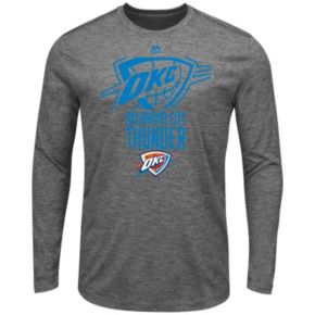 Men's Majestic Oklahoma City Thunder March To Victory Tee