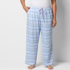 Plus Size SONOMA Goods for Life™ Pajamas: Paisley Dreams Crochet Pajama Pants