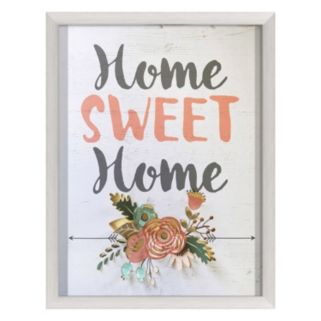 """Home Sweet Home"" Wall Art"