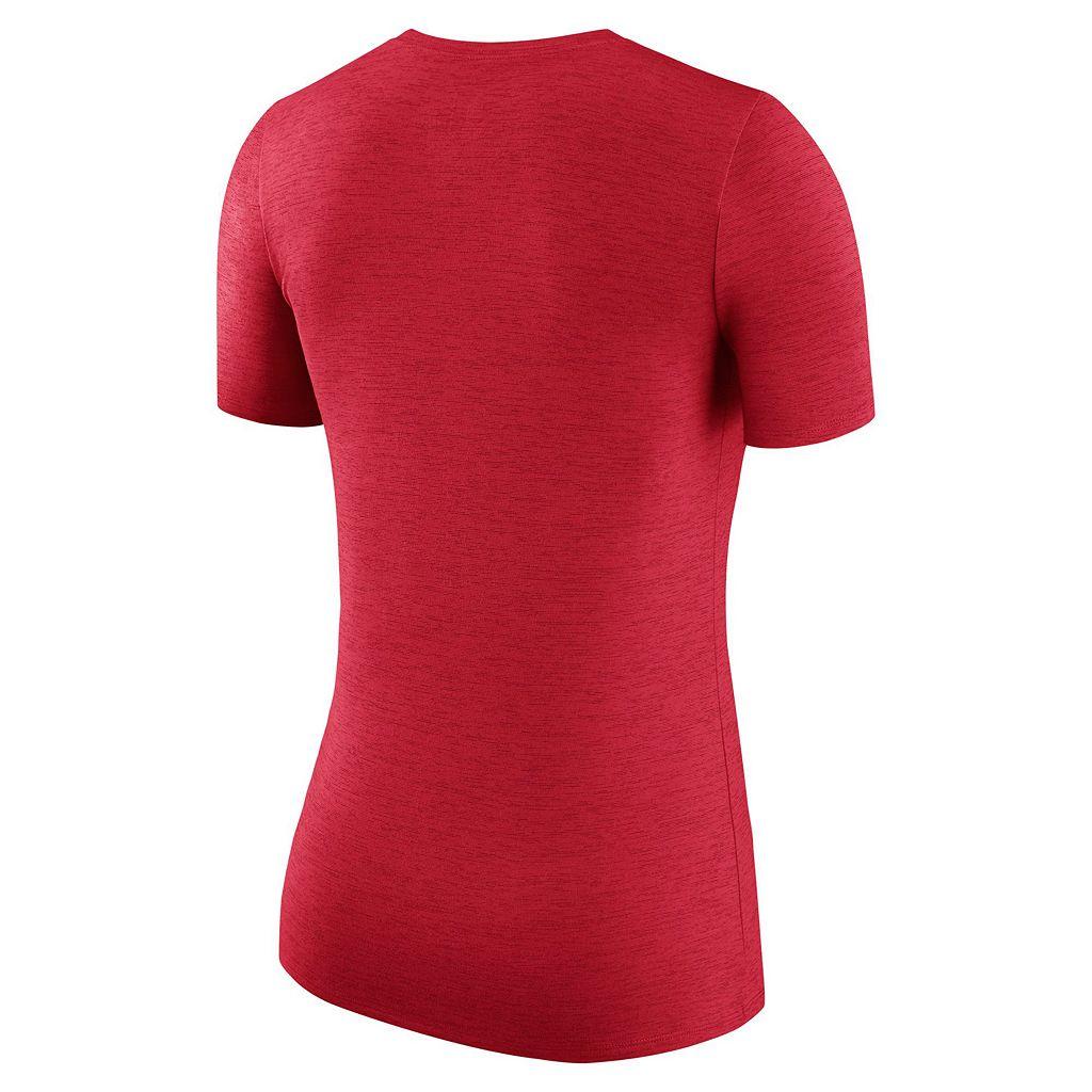 Women's Nike Alabama Crimson Tide Dri-FIT Touch Tee