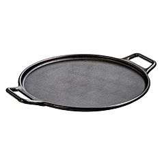 Lodge Pre-Seasoned 14 in Cast-Iron Baking Pan with Loop Handles