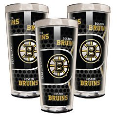 Boston Bruins 3-Piece Shot Glass Set