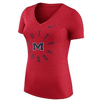 Women's Nike Ole Miss Rebels Dri-FIT Touch Tee
