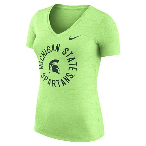 Women's Nike Michigan State Spartans Dri-FIT Touch Tee