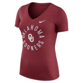 Women's Nike Oklahoma Sooners Dri-FIT Touch Tee