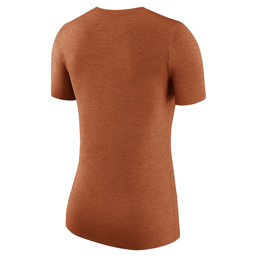 Women's Nike Texas Longhorns Dri-FIT Touch Tee