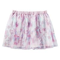 Toddler Girl OshKosh B'gosh® Floral Printed Mesh Skirt
